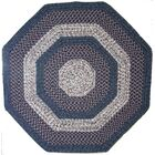 Town Crier Blue with Red Indoor/Outdoor Rug Rug Size: Octagon 4'