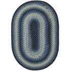 Juniper Black Indoor/Outdoor Rug Rug Size: Oval 6' x 9'