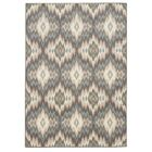 Concord Ivory/Blue Area Rug Rug Size: Rectangle 7'10