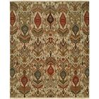 Shuwaikh Hand-Woven Ivory/Red Area Rug Rug Size: Rectangle 10' x 14'
