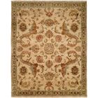 Jebel Hand-Knotted Ivory Area Rug Rug Size: 9' x 12'