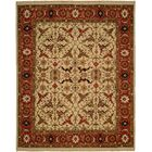 Peru Hand-Woven Ivory/Brown Area Rug Rug Size: Rectangle 12' x 18'