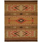 Metro Hand-Woven Beige/Brown Area Rug Rug Size: Rectangle 2' x 3'