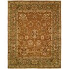 Hand-Knotted Brown Area Rug Rug Size: Rectangle 8' x 10'