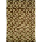 Minh Hand-Knotted Gold/Brown Area Rug Rug Size: 11' x 16'