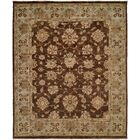 Sacramento Hand-Knotted Brown/Blue Area Rug Rug Size: Runner 2'6