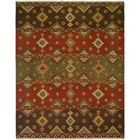 Jinzhou Hand-Woven Red/Brown Area Rug Rug Size: Rectangle 12' x 18'