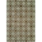 Laem Hand-Knotted Light Blue Area Rug Rug Size: Square 10'
