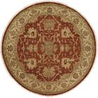 Pichilingue Hand-Knotted Rust/Ivory Area Rug Rug Size: Rectangle 12' x 18'