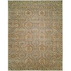 Hungnam Hand-Knotted Blue/Brown Area Rug Rug Size: 10' x 14'