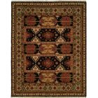 Tacoma Red/Beige Area Rug Rug Size: Rectangle 4' x 8'