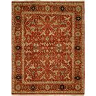 Hand-Knotted Rust Area Rug Rug Size: Runner 2'6