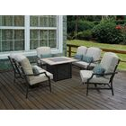 Parker Loveseat with Cushions (Set of 2)