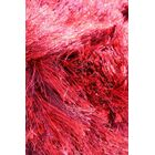 Silk Hand-Woven Red Area Rug Rug Size: Round 6'