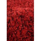 Silk Hand-Woven Red/Black Area Rug Rug Size: Round 8'