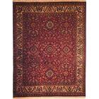 Nomad Plum / Ivory Rug Rug Size: 6' x 9'