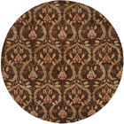 Corinto Hand-Knotted Brown Area Rug Rug Size: Rectangle 3' x 5'
