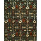 Hand-Tufted Green Area Rug Rug Size: Rectangle 3'6