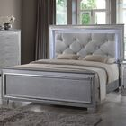Reena Upholstered Panel Bed Color: Gray, Size: Queen