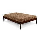 Platform Bed Color: Natural, Size: Full