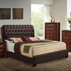 Barnes Upholstered Panel Bed Size: Queen