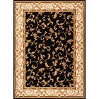 Calley  Black Area Rug Rug Size: Rectangle 5'3