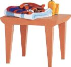 Bubble Club Side Table Color: Siena Red