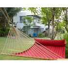 Chillax Olefin Hammock with Stand Size: Double, Color: Red Pepper