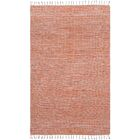 Complex Hand-Loomed Orange Area Rug Rug Size: 5' x 8'