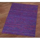 Sari Silk Handmade Purple Area Rug Rug Size: 4' x 6'