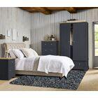 Baumann Hand-Loomed Gray Area Rug Rug Size: Round 5'
