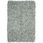 Baum Leather Grey Area Rug Rug Size: Rectangle 8' x 10'