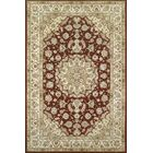 Hand-Tufted Burgundy/Red Area Rug Rug Size: Square 10'