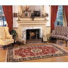 Fitz Hand-Tufted Burgundy/Red Area Rug Rug Size: Rectangle 10' x 14'