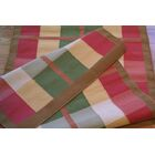 Cottage Kilim Plaid Morning Rug Rug Size: Runner 2'6
