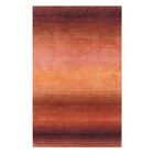 Hand-Tufted Rust Area Rug Rug Size: Runner 2'6