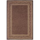 American Home Classic Mir Black/Gold Area Rug Rug Size: 8'6