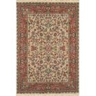 American Home Classic Tabriz Antique Ivory/Rose Area Rug Rug Size: 4' x 6'