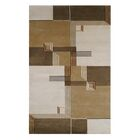 Creston Architectural Elements Hand Tufted Wool Brown Area Rug Rug Size: 7.6