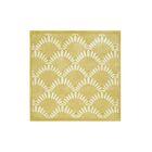 Walden Hand-Tufted Beige/White Area Rug Rug Size: Square 4'
