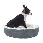Caden Pet Bolster Color: Gray, Size: Small (20
