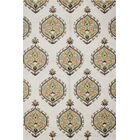 Rajapur Ivory Area Rug Rug Size: Rectangle 5' x 7'6