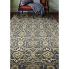 Bessie Hand-Tufted Wool Blue Area Rug Rug Size: 8' x 10'