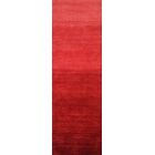 Stokes Hand-Woven Wool Red Area Rug Rug Size: Runner 2'6