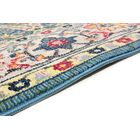 Fidela Azure Area Rug Rug Size: Rectangle 5' x 7'6
