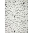 Daryl Hand-Knotted Wool Ivory Area Rug Rug Size: Rectangle 7'6