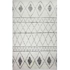 Daryl Hand-Knotted Wool Ivory Area Rug Rug Size: Rectangle 3'6