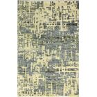 Jagtap Hand Knotted Cotton Cream/Gray Area Rug Size: Rectangle 7'6