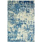 Jagtap Hand Knotted Cotton Blue/Biege Area Rug Size: Rectangle 3'6