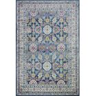 Goldie Navy Area Rug Rug Size: Rectangle 8' 6